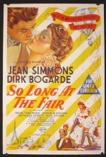 So Long at the Fair (1950) afişi
