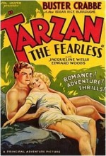 Tarzan The Fearless (1933) afişi