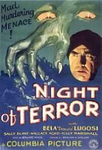 Terörün Gecesi (1933) afişi