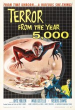 Terror From The Year 5000 (1958) afişi