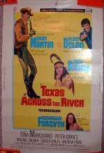Texas Across The River (1966) afişi