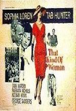 That Kind Of Woman (1959) afişi