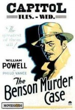 The Benson Murder Case (1930) afişi