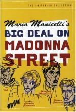 The Big Deal On Madonna Street (1958) afişi