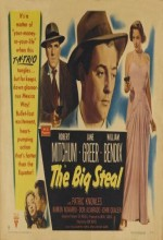 The Big Steal (1949) afişi