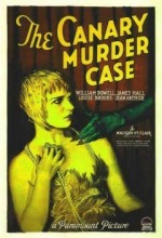 The Canary Murder Case (1929) afişi