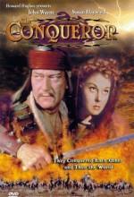 The Conqueror (1956) afişi