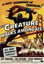 The Creature Walks Among Us (1956) afişi