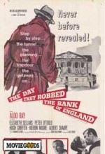 The Day They Robbed The Bank Of England (1960) afişi