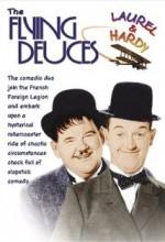 The Flying Deuces (1939) afişi