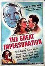 The Great Impersonation (1942) afişi