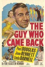 The Guy Who Came Back (1951) afişi