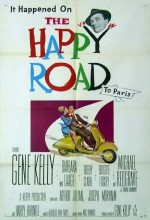 The Happy Road (1957) afişi