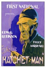 The Hatchet Man (1932) afişi