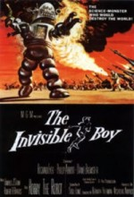 The Invisible Boy (1957) afişi
