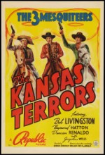The Kansas Terrors (1939) afişi