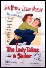 The Lady Takes A Sailor (1949) afişi