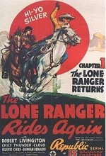The Lone Ranger Rides Again (1939) afişi