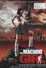 The Machine Girl (2008) afişi
