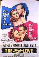 The Other Love (1947) afişi