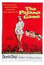The Pajama Game (1957) afişi