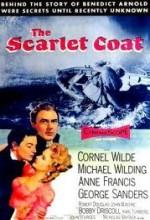 The Scarlet Coat (1955) afişi