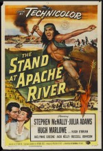 The Stand At Apache River (1953) afişi