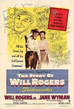 The Story Of Will Rogers (1952) afişi