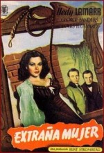 The Strange Woman (1946) afişi