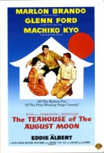 The Teahouse Of The August Moon (1956) afişi