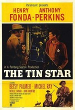 The Tin Star (1957) afişi