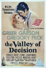 The Valley Of Decision (1945) afişi