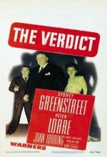 The Verdict (ıı) (1946) afişi