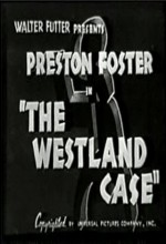 The Westland Case (1937) afişi