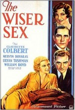The Wiser Sex (1932) afişi