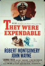 They Were Expendable (1945) afişi