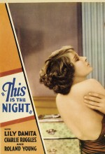 This ıs The Night (1932) afişi
