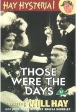 Those Were The Days (1934) afişi