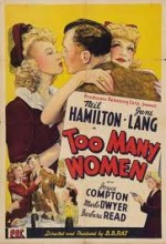 Too Many Women (1942) afişi
