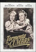 Tormenta En La Cumbre (1943) afişi