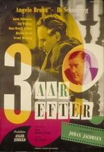 Tre år Efter (1948) afişi