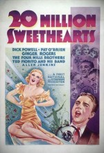 Twenty Million Sweethearts (1934) afişi
