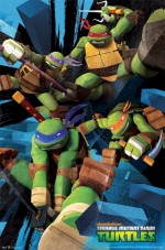 Teenage Mutant Ninja Turtles (2012) afişi