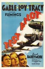 Test Pilot (1938) afişi