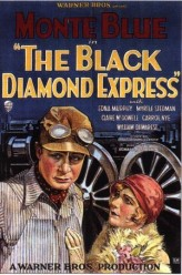 The Black Diamond Express (1927) afişi