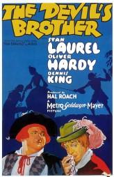 The Devil's Brother (1933) afişi