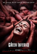 The Green Inferno (2013) afişi