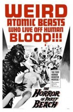 The Horror Of Party Beach (1964) afişi