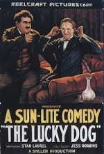 The Lucky Dog (1921) afişi