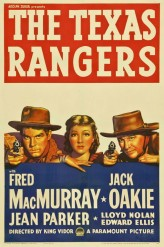 The Texas Rangers (1951) afişi